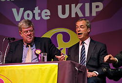 © Licensed to London News Pictures. 29/04/2014; Bath, UK.  UKIP hold a public meeting with leader Nigel Farage at the Bath Forum.<br /> Photo credit: Simon Chapman/LNP