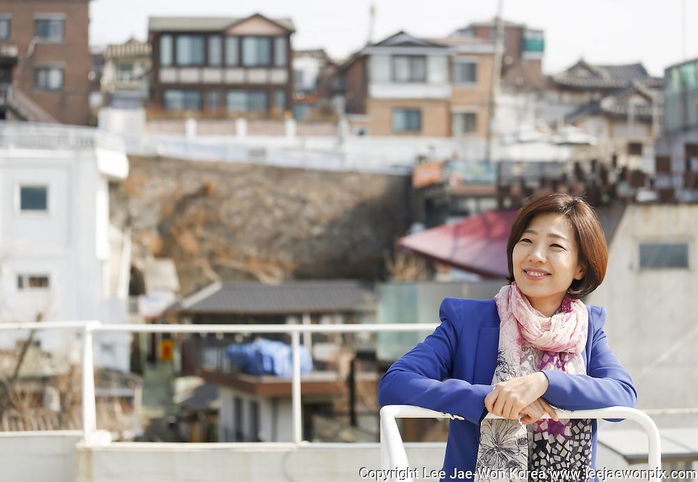 South Korean lawmaker Bae Jae-Jeong in Seoul, South Korea, February 15, 2014.  Photo by Lee Jae-Won (SOUTH KOREA)  www.leejaewonpix.com