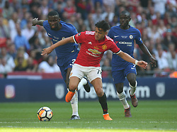 May 19, 2018 - London, England, United Kingdom - Manchester United's Alexis Sanchez and Chelsea's Antonio Rudiger.during the The Emirates FA Cup Final match between Chelsea and Manchester United  at Wembley, London, England on 19 May 2018. (Credit Image: © Kieran Galvin/NurPhoto via ZUMA Press)