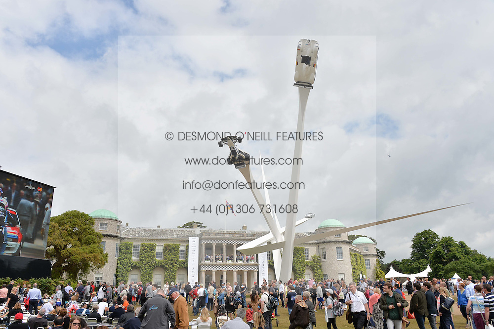 View at the Cartier hosted Style et Lux at The Goodwood Festival of Speed at Goodwood House, West Sussex on 26th June 2016.