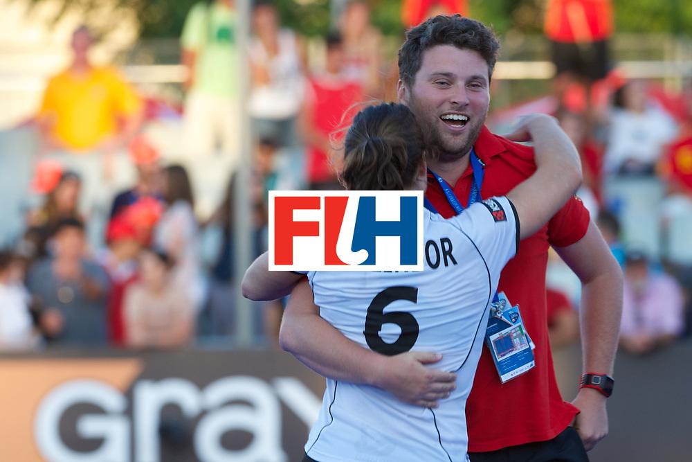 RIO 2016 Olympic qualification, Hockey, Women, quarterfinal, Germany vs Spain QF2 : Luisa Steinor