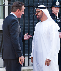 JULY 15 2013 David Cameron Meets Crown Prince of Abu Dhabi