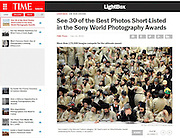 2015 Sony World Photography Awards - short-list announced. <br /> &quot;Purim Holiday in Jerusalem&quot;.