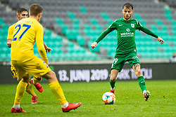 Asmir Suljic of NK Olimpija during Football match between NK Olimpija Ljubljana and NK Domzale in 33th Round of Prva liga Telekom Slovenije 2018/19, on May 15th, 2019, in Stadium Stozice, Slovenia. Photo by Grega Valancic / Sportida