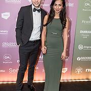 NLD/Amsterdam/20180213 - Edison Pop Awards 2018, Leila Jane Ali-Dib en Niek Honings