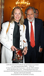 LORD & LADY PUTTNAM at an exhibition in London on 16th September 2003.<br /> PMK 23
