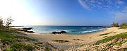 Makalawena Beach, Kekaha Kai State Park, Kona, Island of Hawaii, Hawaii