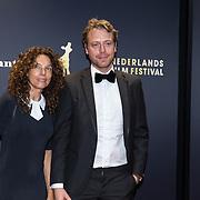 NLD/Utrecht/20181005 - L'OR Gouden Kalveren Gala 2018, Paula van Oest en Mark van Eeuwen