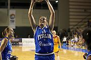 Taranto 08-06-2011<br /> Qualifying Tournament Eurobasket Women 2011<br /> Italia-Romania<br /> Nella foto Raffaella Masciadri<br /> Foto di Ciamillo-Castoria