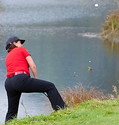 05.10.2010, Golfclub, Zell am See Kaprun, AUT, European Paragolf Championships 2010, im Bild Marieluise Deubl, GER, EXPA Pictures © 2010, PhotoCredit: EXPA/ J. Feichter