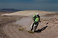 MOTORSPORT - DAKAR ARGENTINA CHILE PERU 2012 - STAGE 8 - COPIAPO (CHI) TO ANTOFAGASTA (CHI) - 09/01/2012 - PHOTO:  FREDERIC LE FLOCH / DPPI<br /> 06 ULLEVALSETER PAL ANDERS (NOR) KTM 450 R - ACTION