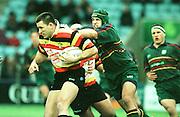 London Irish v Roma; Heineken Shield - Sat 18 Dec 1999..Roma's Italian internatonal, Luke Gross breaking with the ball early on in the game. [Mandatory Credit: Peter Spurrier:Intersport Images.com]