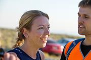 Aniek Rooderkerken tijdens de vijfde racedag. Het Human Power Team Delft en Amsterdam, dat bestaat uit studenten van de TU Delft en de VU Amsterdam, is in Amerika om tijdens de World Human Powered Speed Challenge in Nevada een poging te doen het wereldrecord snelfietsen voor vrouwen te verbreken met de VeloX 7, een gestroomlijnde ligfiets. Het record is met 121,81 km/h sinds 2010 in handen van de Francaise Barbara Buatois. De Canadees Todd Reichert is de snelste man met 144,17 km/h sinds 2016.<br /> <br /> With the VeloX 7, a special recumbent bike, the Human Power Team Delft and Amsterdam, consisting of students of the TU Delft and the VU Amsterdam, wants to set a new woman's world record cycling in September at the World Human Powered Speed Challenge in Nevada. The current speed record is 121,81 km/h, set in 2010 by Barbara Buatois. The fastest man is Todd Reichert with 144,17 km/h.