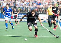 UTRECHT - Caspar van Dijk (A'dam)    tijdens   de finale van de play-offs om de landtitel tussen de heren van Kampong en Amsterdam (3-1). Kampong kampioen van Nederland. COPYRIGHT  KOEN SUYK