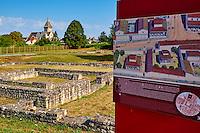 France, Indre (36), Argenton-sur Creuse, Saint-Marcel, Argentomagus, cité gallo-romaine // France, Indre, Argenton-sur Creuse, Saint-Marcel, Argentomagus, Roman-Gallo site