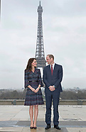 Kate Middleton & Prince William - Trocadero-Eiffel, Paris