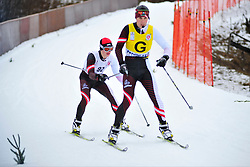 ARTEMOV Alexsander Guide: CHEREPANOV Ilya, RUS at the 2014 IPC Nordic Skiing World Cup Finals - Long Distance