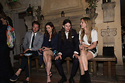 ROBIN SCOTT; SOPHIE COOKSON; ELIOT SUMNER, VIOLET HESKETH, Robin Birley and Lady Annabel Goldsmith Summer Party. Hertford St. London. 5 July 2017