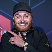 NLD/Amsterdam/20190613 - Inloop uitreiking De Beste Social Awards 2019, rapper Donny