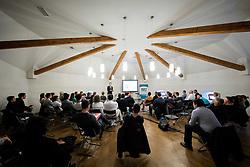 Delavnica za podjetnike na temo Kako uspesno voditi svoje podjetje? v organizaciji Instituta MoST<br /> Grad Jable, Trzin, Slovenija; 17. april 2019.<br /> Photo by Vid Ponikvar / Sportida