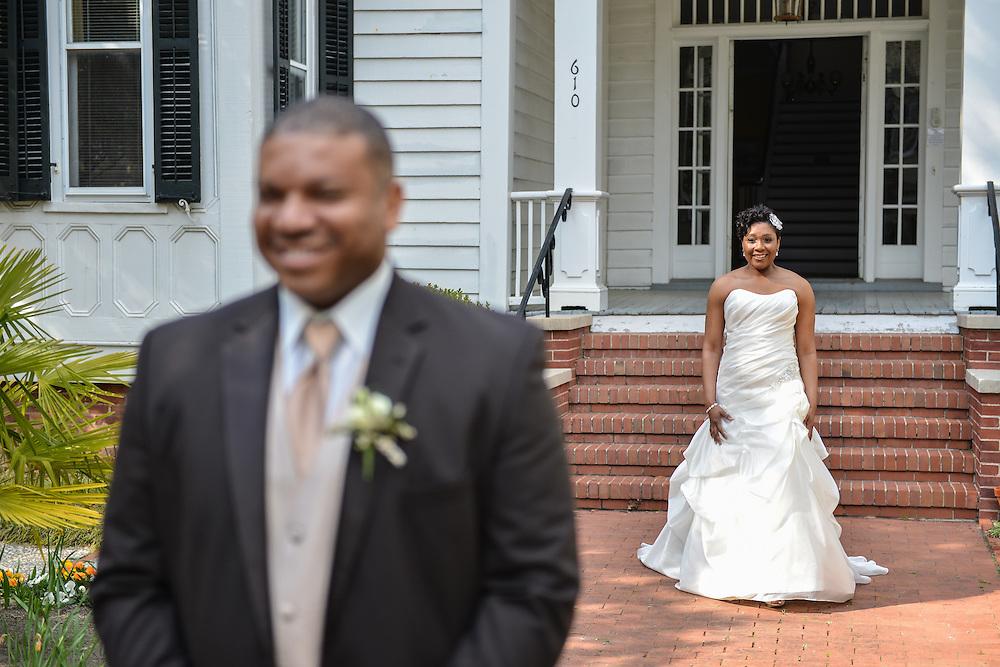 Jason and Rosanna Wedding | New Bern Photographers