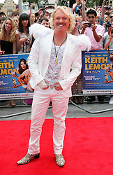 Leigh Francis   arriving at the premiere of Keith Lemon The Film in London, Monday, 20th August 2012. Photo by: Stephen Lock / i-Images