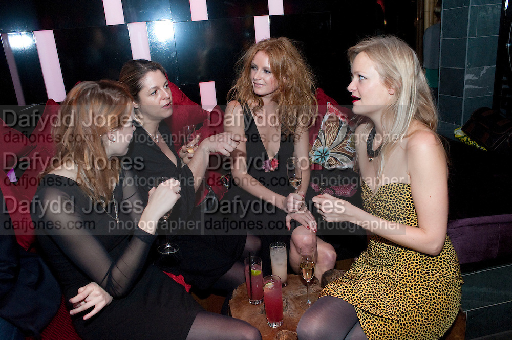 OLIVIA INGE; ALEXIA INGE, The Tatler Little Black Book party. Chinawhite club. London. 21 November 2009