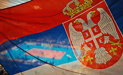 18.09.2011, Stadthalle, Wien, AUT, CEV, Europaeische Volleyball Meisterschaft 2011, Finale, Italien vs Serbien, im Bild Volleyball Serbien Feature // during the european Volleyball Championship Final Italy vs Serbia, at Stadthalle, Vienna, 2011-09-18, EXPA Pictures © 2011, PhotoCredit: EXPA/ M. Gruber