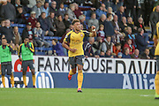 Arsenal midfielder Alex Oxlade-Chamberlain (15) during the Premier League match between Burnley and Arsenal at Turf Moor, Burnley, England on 2 October 2016. Photo by Pete Burns.