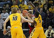 NCAA Men's Basketball - Wisconsin at Iowa - January 19 2013