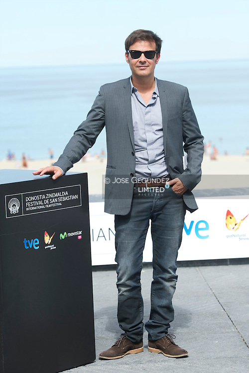 François Ozon attend 'Une nouvelle amie' (The new girlfriend) Photocall during the 62nd San Sebastian International Film Festival at the Kursaal Palace on September 20, 2014 in San Sebastian, Spain.