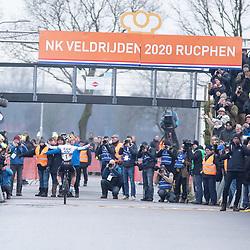 20200112 NK Veldrijden Rucphen  Women U23