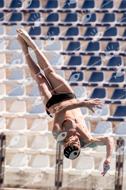BLAHA Constantin  AUT  Austria<br /> 1m springboard trampolino men preliminary<br /> Stadio del Nuoto, Roma<br /> FIN 2016 Campionati Italiani Open Assoluti Tuffi<br /> <br /> day 02 21-06-2016<br /> Photo Giorgio Scala/Deepbluemedia/Insidefoto