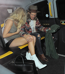 Singer Ellie Goulding and Dougie Poynter attend The London 2014 Stella McCartney Green Carpet Collection during London Fashion Week at The Royal British Institute in London, UK. 14/09/2014<br />BYLINE MUST READ : GOTCHAIMAGES.COM<br /><br />Copyright by © Gotcha Images Ltd. All rights reserved.<br />Usage of this image is conditional upon the acceptance <br />of Gotcha Images Ltd, terms and conditions available at<br />www.gotchaimages.com