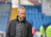 Cambridge United Manager Shaun Derry during the Sky Bet League 2 match between Portsmouth and Cambridge United at Fratton Park, Portsmouth, England on 27 February 2016. Photo by Adam Rivers.