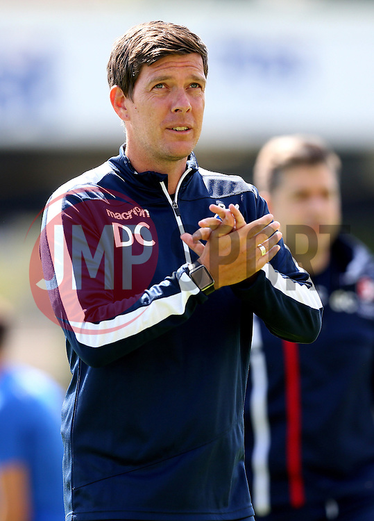 Darrell Clarke manager of Bristol Rovers - Mandatory by-line: Robbie Stephenson/JMP - 31/07/2016 - FOOTBALL - Memorial Stadium - Bristol, England - Bristol Rovers v Cheltenham Town - Pre-season friendly