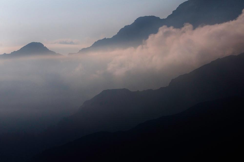view from Augstenberg; Liechtenstein