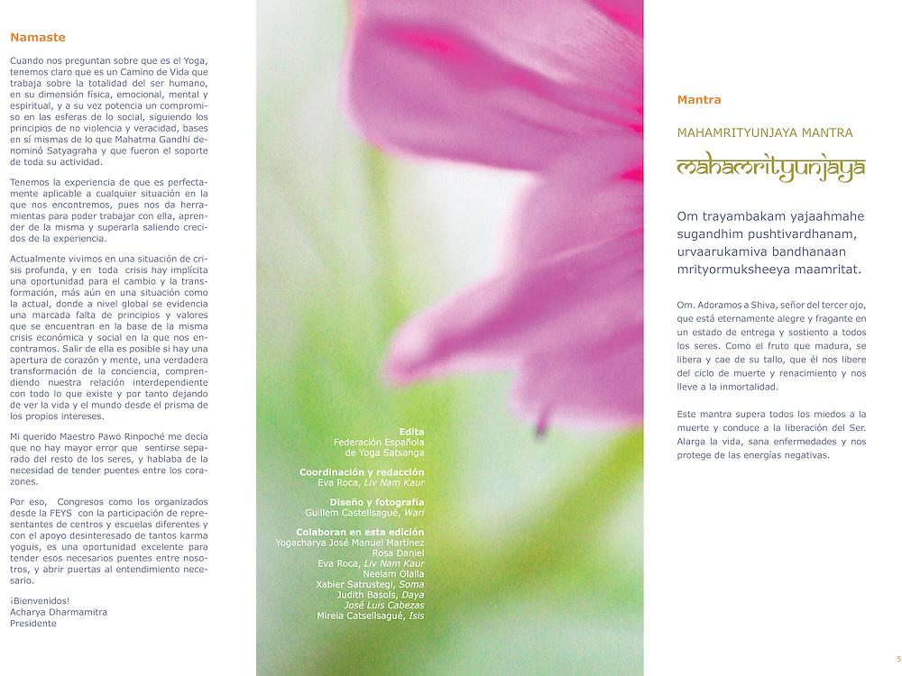 Publicaciones en Yogaletter, la nueva Revista Yóguica digital. Revista diseñada por Wari Om