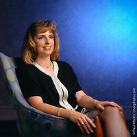 Environmental portrait for corporate communications