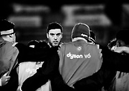 Bath Rugby's Matt Banahan during the pre match warm up<br /> <br /> Photographer Simon King/Replay Images<br /> <br /> Anglo-Welsh Cup Round 4 - Ospreys v Bath Rugby - Friday 2nd February 2018 - Liberty Stadium - Swansea<br /> <br /> World Copyright &copy; Replay Images . All rights reserved. info@replayimages.co.uk - http://replayimages.co.uk
