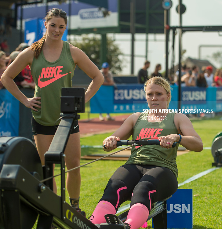 PRETORIA, SOUTH AFRICA - APRIL 28:  during the womens WOD 1 at the Pretoria Throw Down in Waterkloof High School on April 28, 2017 in Pretoria, South Africa. (Photo by Anton Geyser/Gallo Images)