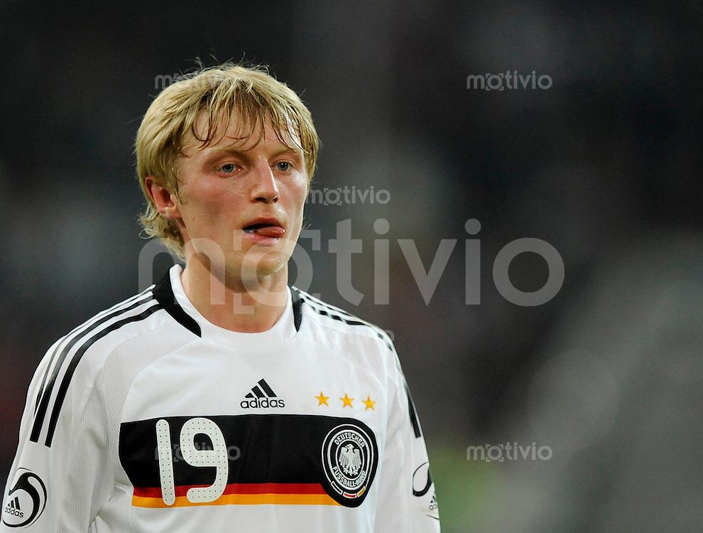 Fussball International 2008/2009 11.02.2009 Freundschaftsspiel Deutschland - Norwegen Andreas BECK (GER).