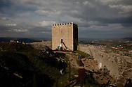 Linhares da Beira XII Century Castle, in Guarda, Portugal.