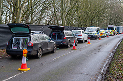 "© Licensed to London News Pictures. 11/12/2019. Gerrards Cross, UK. Police vehicles at the scene in Gerrards Cross in Buckinghamshire as the Metropolitan Police Service continue to search woodland. Police have been in the area conducting operations since Thursday 5th December 2019. In a press statement issued on 7th December, a Metropolitan Police spokesperson said ""Officers are currently in the Gerrards Cross area of Buckinghamshire as part of an ongoing investigation.<br /> ""We are not prepared to discuss further for operational reasons."" Photo credit: Peter Manning/LNP"