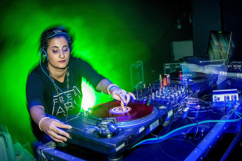 MARSM presents:<br /> <br /> The Case Of Arabic Hip Hop 5th Edition with Dj Missy Ness, Rafeef Ziadah, Stormtrap Asifeh, Malikah, Eslam Jawaad and Shadia Mansour. London, Saturday 15th October 2016.(Photos/Ivan Gonzalez)