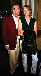 LORD & LADY LLOYD-WEBBER at a party in London on 22nd September 1999.MWR 64