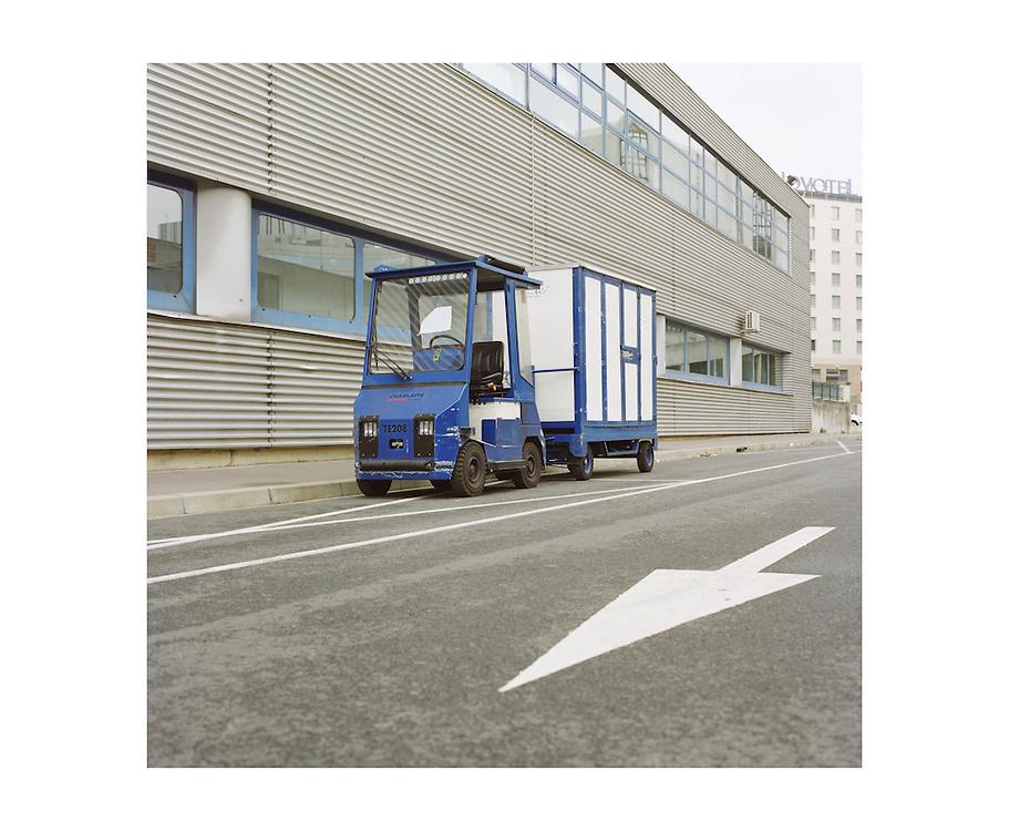 Bords de voie de Montparnasse à Porte de Vanves.