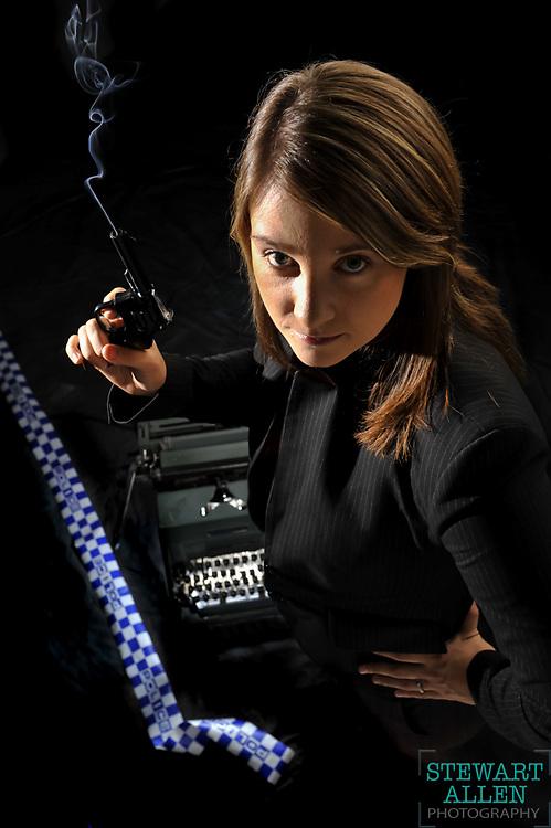 01/04/2009 INSIDENEWS: Inside News Nicole Cox employee of the month for december 2008  Photo Stewart Allen