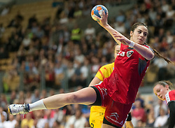 01.06.2016 , Olympiaworld, Innsbruck, AUT, EHF, Frauen EM Qualifikation, Österreich vs Spanien, im Bild Josefine Huber (Österreich) // during the during the EHF womens Handball Euro Qualification match between Austria and Spain at the Olympiaworld in Innsbruck, Austria on 2016/06/01. EXPA Pictures © 2016, PhotoCredit: EXPA/ Jakob Gruber