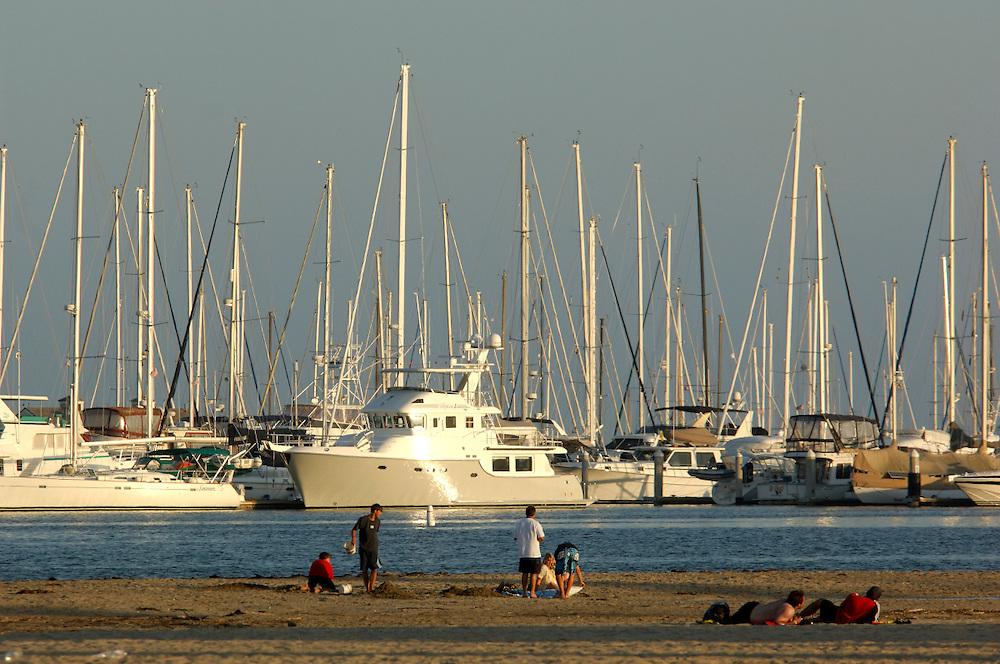 Santa Barbara Harbor, Santa Barbara, California, United States of America